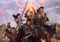 Party of D&D Characters
